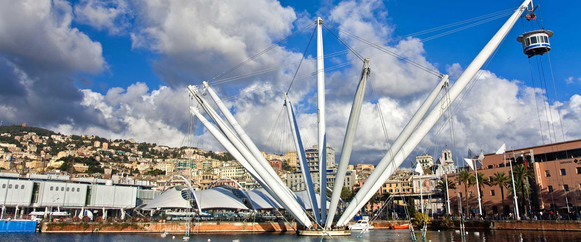 Genova porto il Bigo