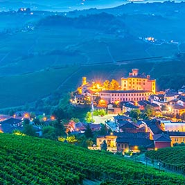 Land of Barolo and truffle